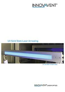 UV Solid State Laser Annealing